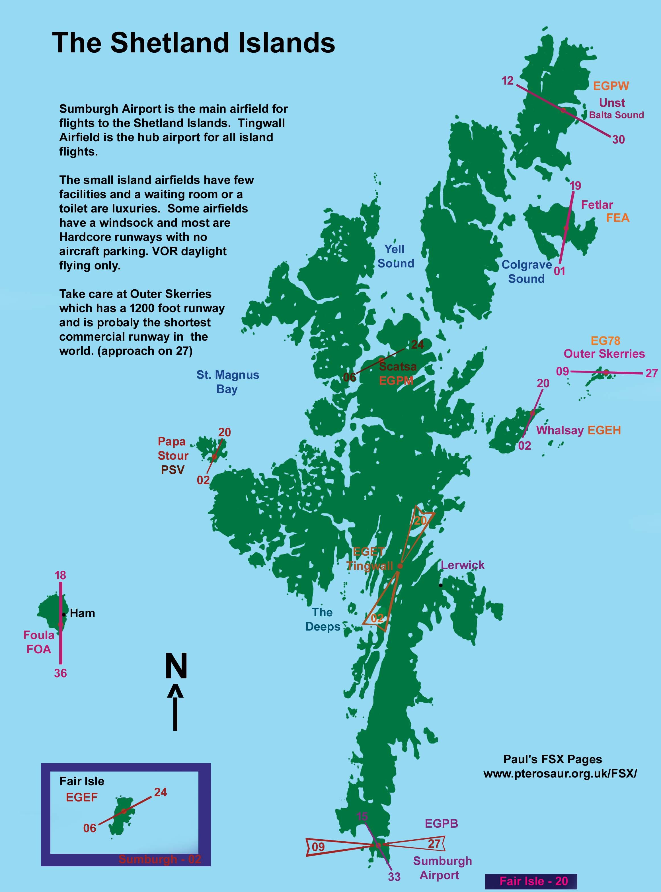 Shetland Islands Uk Airport